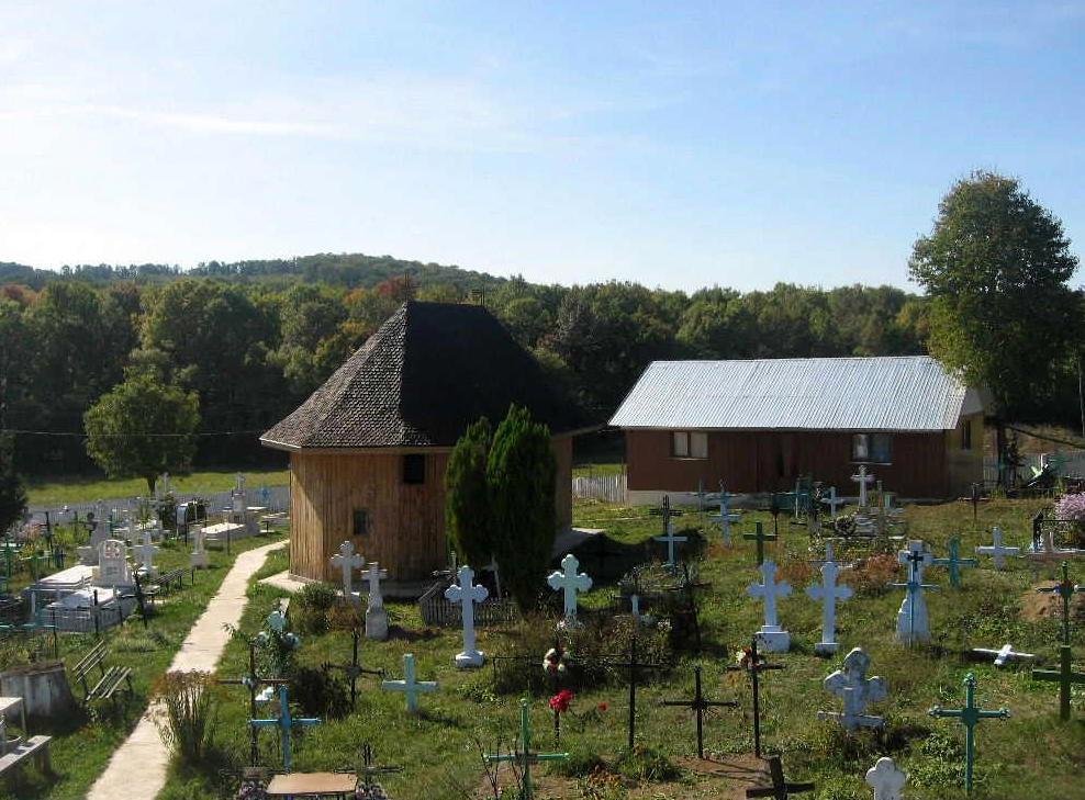 Biserica Adormirea Maicii Domnului, Frumuselea - cimitir